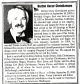 Burton Oscar Christiansen - obiturary